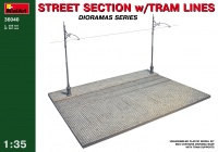 Street Section with Tram Lines - 1/35