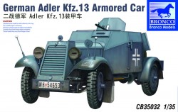 German Adler Kfz. 13 Armored Car - 1/35