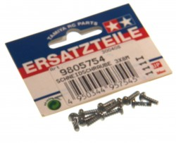 3x8 mm Tapping Screw - Black (10 pcs.)