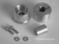 Improved track idler System for King Tiger (Aluminium)
