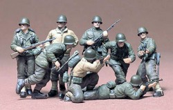 US Army Infantry Europa - 1:35