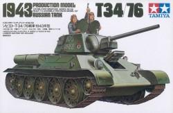 Russian Tank T34/76 - Production Model 1943 - 1/35