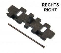 T-81 Metaltrack Single Link + Bolt RIGHT