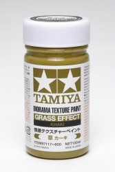 Diorama Texture Paint 100ml - Grass Effect, Khaki