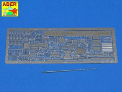 Photo-Etched Set for Tasca Panzerkampfwagen II Ausf. F - 1:24