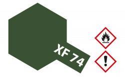 Tamiya Mini XF74 - Olive-Drab JGSDF - Matt