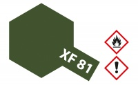 Tamiya Mini XF81 - Dunkel-Grün 2 - RAF - Matt