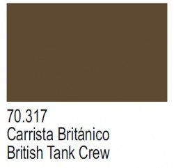 Panzer Aces 70317 - Britische Panzerbesatzung / British Tank Crew