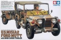 US M151A2 - Ford Mutt - mit M416 Cargo Trailer - 1:35