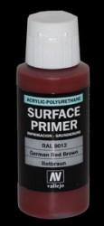 Grundierung Acryl Polyurethan Rotbraun RAL 8012 - 60ml