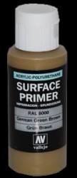 Grundierung Acryl Polyurethan Grünbraun RAL 8000 - 60ml