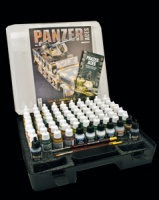 Panzer Aces - Complete Series in case - 64 Colors & Finishing Products