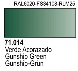 Model Air 71014 - Gunship-Grün / Gunship Green