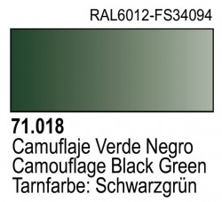 Model Air 71018 - Tarnfarbe: Schwarzgrün / Camouflage Black Green