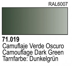 Model Air 71019 - Tarnfarbe: Dunkelgrün / Camouflage Dark Green