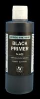 Primer Black Acrylic Polyurethan - 200ml
