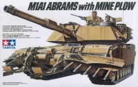 US M1A1 Abrams with Mine Plow - 1/35