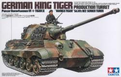 German King Tiger - Production Turret - Panzerkampfwagen VI Tiger II - Königstiger - Sd.Kfz. 182 - 1/35
