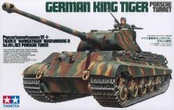 Königstiger - Panzerkampfwagen VI - Tiger II - Sd.Kfz. 182 - Porscheturm - 1:35