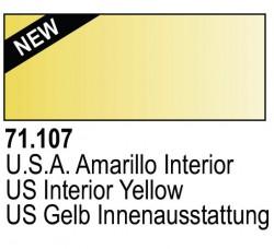 Model Air 71107 - US Gelb Innenausstattung / US Interior Yellow
