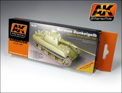 German Dunkelgelb - Special Modulation Style Set (6 acrylic colours)