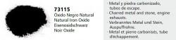 Vallejo Pigments 73115 Eisenoxidschwarz (Natural Iron Oxide), Pigment