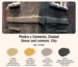 Stein und Zement, Stadt (Stone and cement, city) - Vallejo Pigment Set