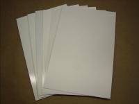 Polystyrene Plates 0,50mm , white.