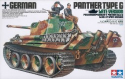 German Panther Ausf. G - Late Version - Sd.Kfz. 171 - 1/35