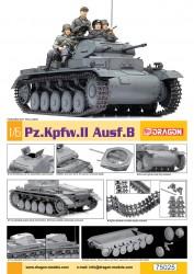 Panzerkampfwagen II Ausf. B - Sd.Kfz. 121 - 1:6
