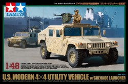 US Modern 4x4 Utility Vehicle with Grenade Launcher - 1/48