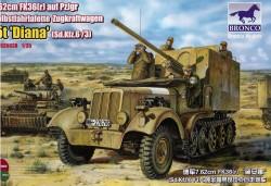 Sd.Kfz. 6/3 7,62 cm PaK 36(r) auf Fahrgestell Zgkw. 5t -