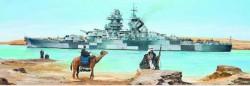 Französisches Schlachtschiff Richelieu - 1943 - 1:350