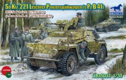 Sd.Kfz. 221 Leichter Panzerspähwagen (s.Pz.B.41) - 1:35