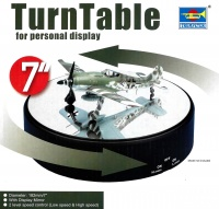 Turntable - 7 Inch / 18,2 cm - with Mirror