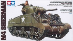 US Medium Tank M4 Sherman - frühe Produktion - 1:35
