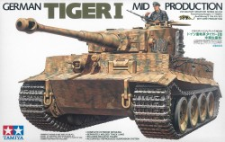 Tiger I - mittlere Produktion - 1:35