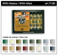 Model Air WWII Allied Color Set