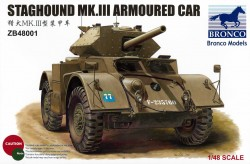 Britischer Staghound Mk. III - 1:48