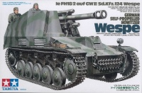 Sd.Kfz. 124 le Fh18/2 auf GWII - Wespe