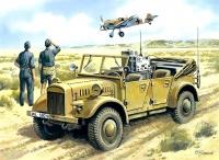 Nachrichtenkraftwagen (Kfz. 2), mit Einheitsfahrgestell I für l. Pkw. - 1:35