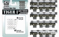 Tiger I - Workable Single Link Track - early Version - Kgs 63/725/130 - 1/48