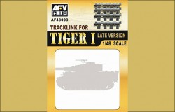Tiger I - Workable Single Link Track - Late Version - Kgs 63/725/130 - 1/48