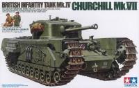 British Churchill Mk.VII - Infantry Tank Mk.IV - 1/35