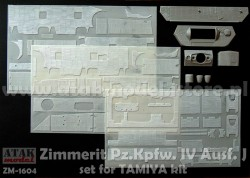 Zimmerit for Tamiya Panzerkampfwagen IV Ausf. J