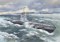 German U-Boat Type IIB (1939) - 1/144