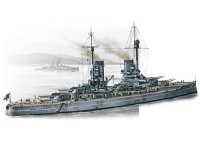 WWI German Battleship SMS König - 1/350