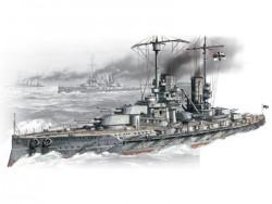 Großlinienschiff SMS Großer Kurfürst der Kaiserlichen Marine - 1:350