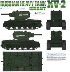 Finishing Guide for Tamiya KV-2 (56030) 1:16