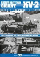 Instructions for Tamiya KV-2 (56030) 1:16